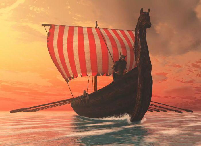 hakkında az şey bilinen antik imparatorluk vikingler