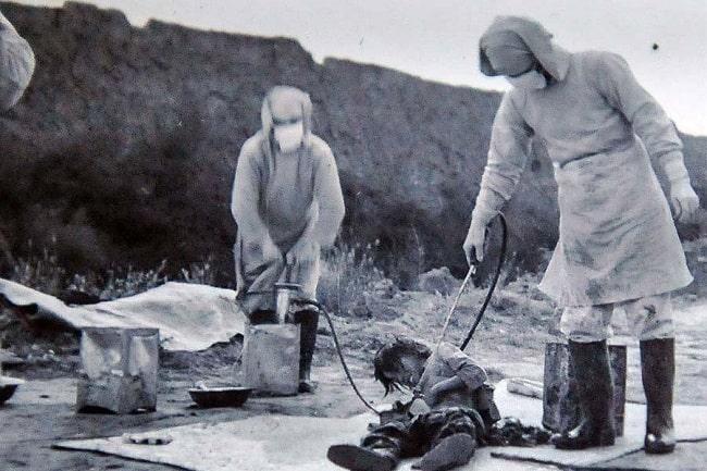 731. Birim, II. Dünya Savaşı Japonya'nın mide bulandırıcı insan deneyleri programı