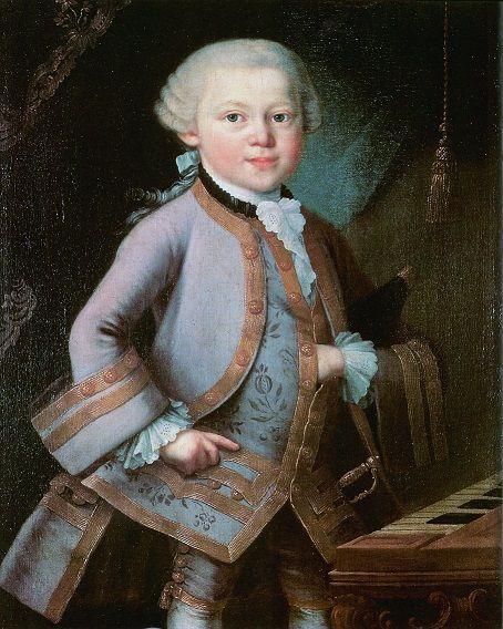 Wolfgang Amadeus Mozart'ın çocukluğu