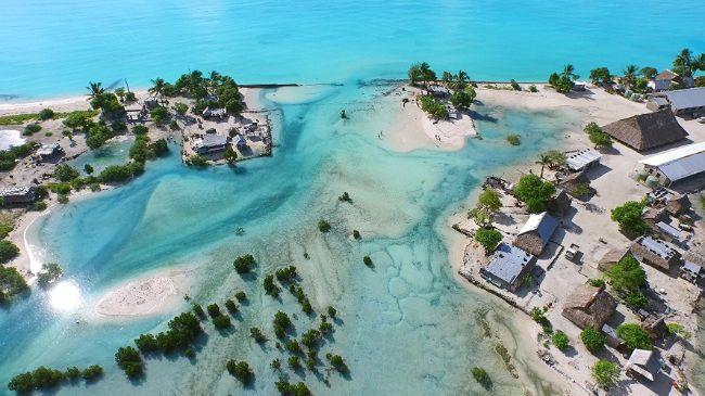 Kiribati iklim değişikliğinden büyük ölçüde etkilenmiştir.