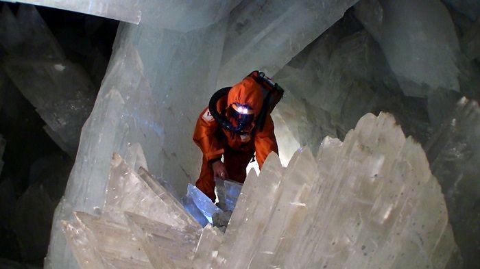 naica kristal mağarası meksika