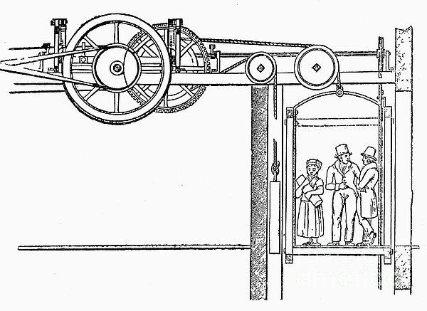"""Burton ve Hormer'in turist odaklı 1823 """"The Eagle"""" (Kartal) asansörü."""