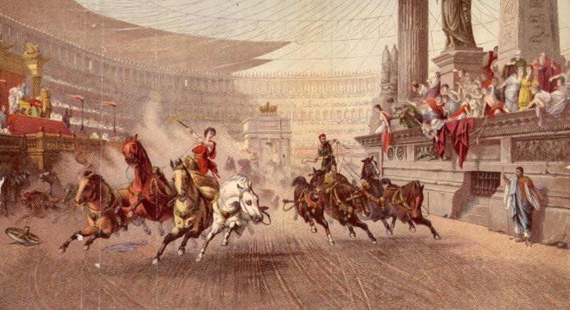 Tarihin en çok kazanan sporcusu olan Gaius Appuleius Diocles.