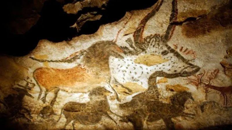 Lascaux mağarası.