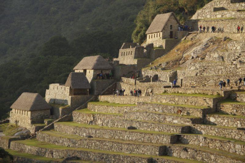 Machu Picchu evleri