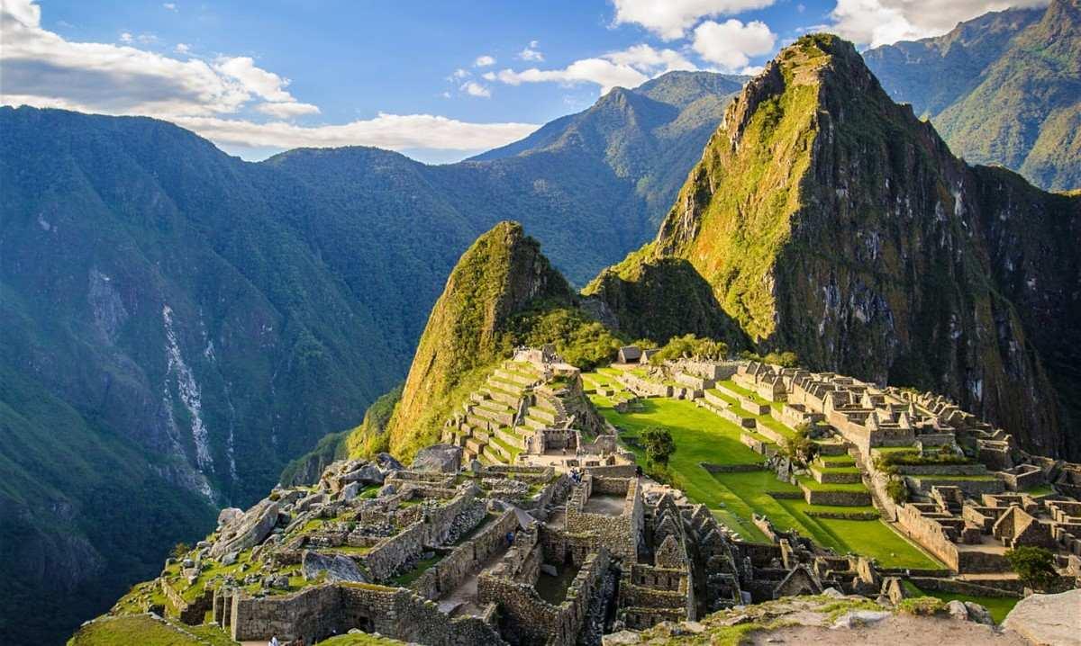 Machu Picchu görüntüsü
