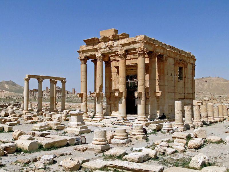 Bel tapınağı, Palmira.