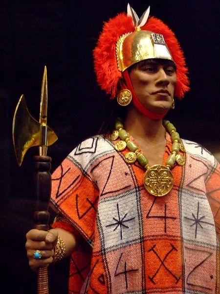 Son İnka kralı Atahualpa'nın George S. Stuart tarafından yapılan heykeli.