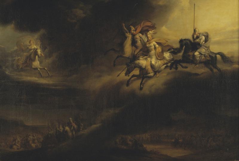 Stockholm'deki National Museum koleksiyonundan Valkür Akını tablosu.