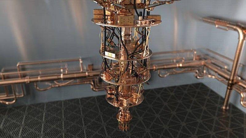 Günümüzün kuantum bilgisayarları kuantum bilgisayar çipini neredeyse mutlak sıfıra soğutmak için çok fazla güce ihtiyaç duyan devasa ve karmaşık makinelerdir.