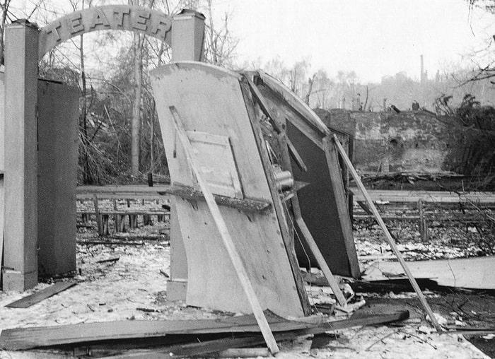 Sovyet bombardımanından sonra Stockholm