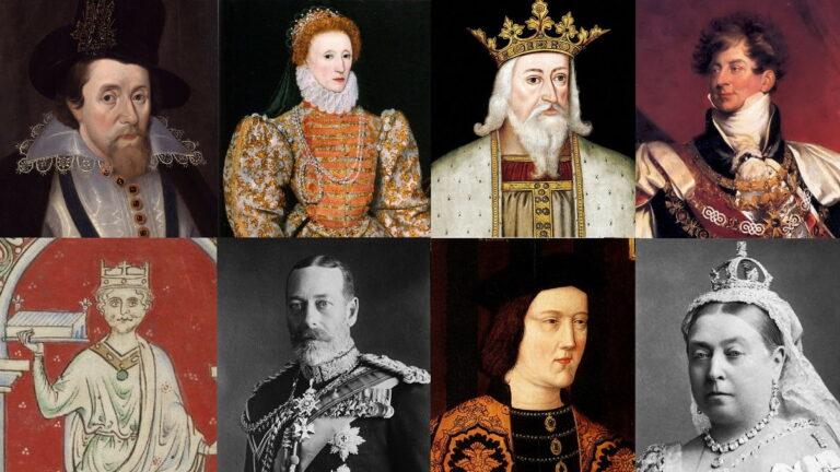 britanya kral ve kraliçelerinin listesi