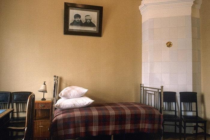 Lenin'in Kremlin'deki dairesi.