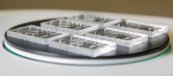 Mikroakışkan çip üretimi