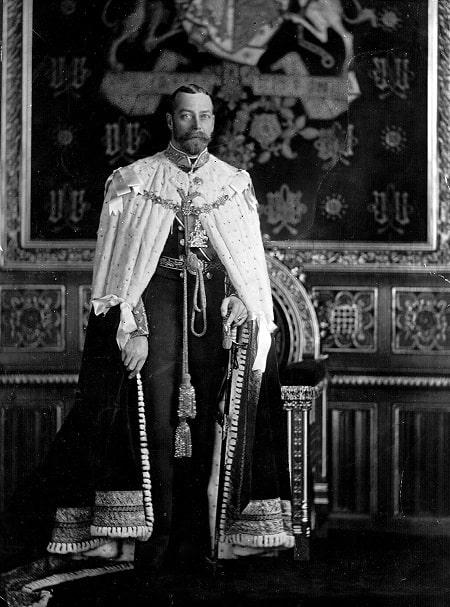 V. George (1865 - 1936), Birleşik Krallık Kralı (1910 - 1936), yaklaşık 1910