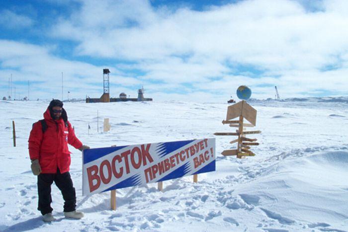 Üzerinde kalıcı yerleşim olan Dünya'nın en soğuk ikinci yeri.
