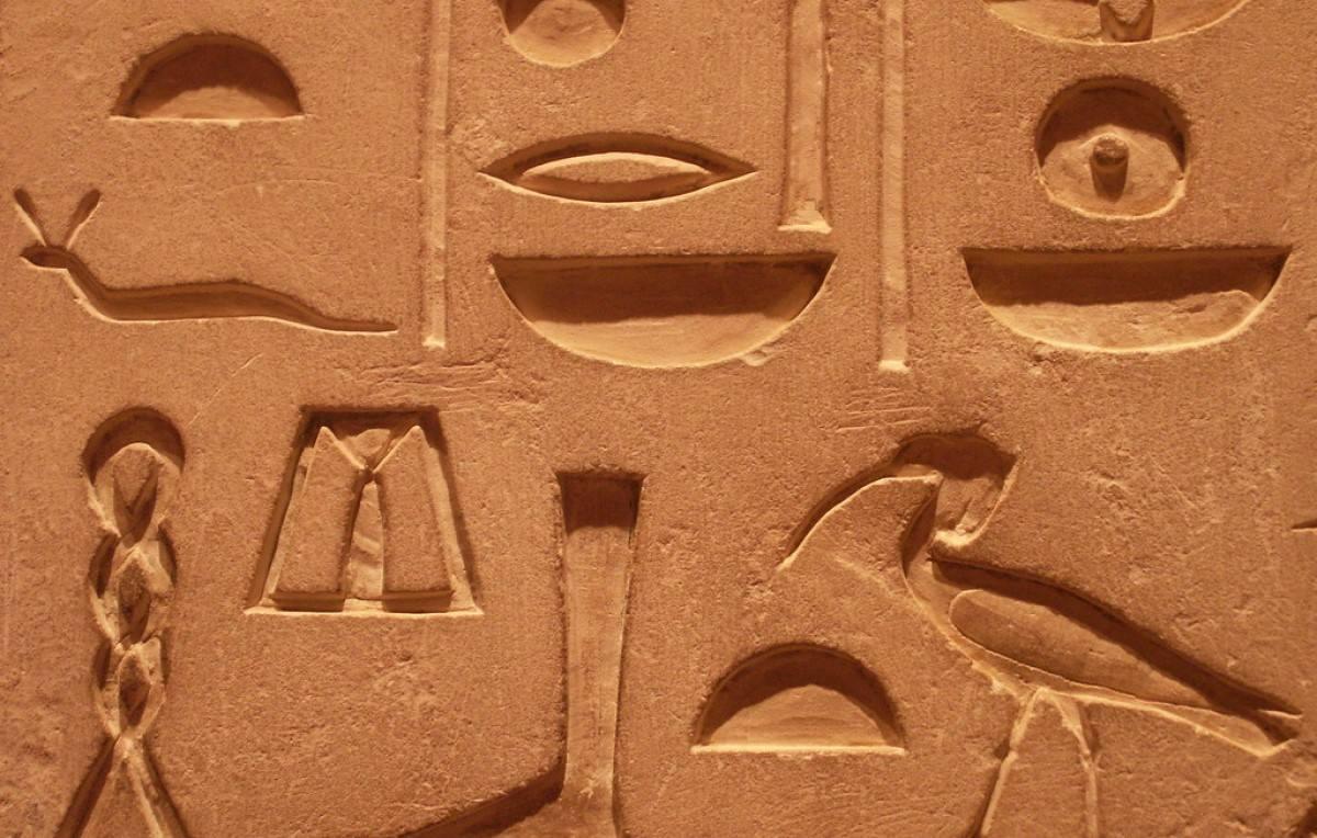 antik mısır hiyeroglifi
