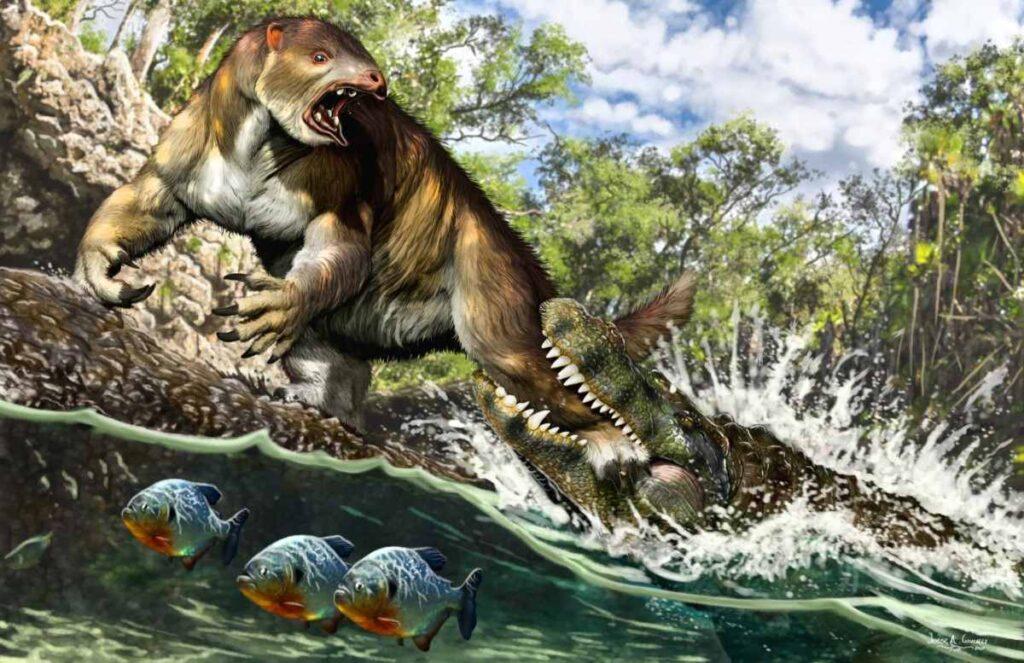 purusaurus timsahı