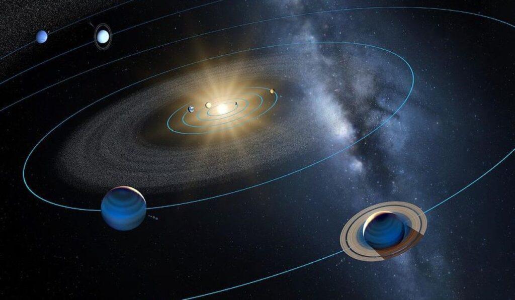 Gezegenler neden aynı düzlemde dönüyor?