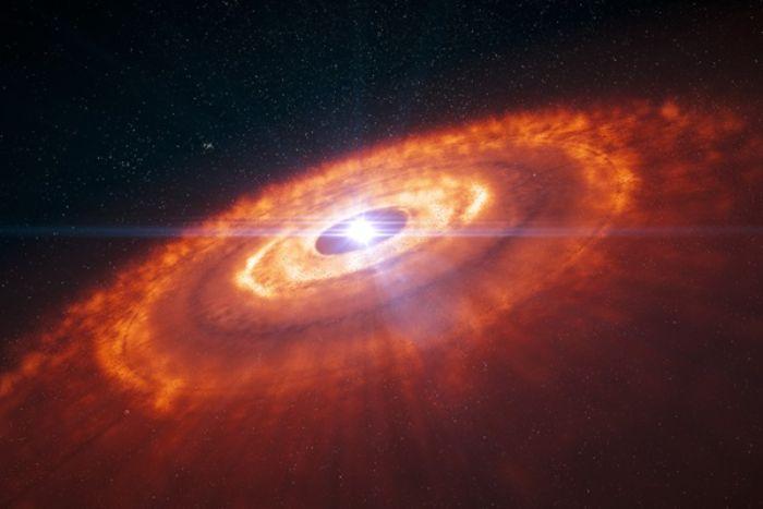 Gezegenler genç bir yıldızın etrafında dönen malzeme disklerinden oluştu. Bu disk döndüğü için ortaya çıkan gezegenler de dönme enerjisiyle yüklendi. Uzayda onlara etki eden kuvvet olmadığından dönmeye devam ettiler.