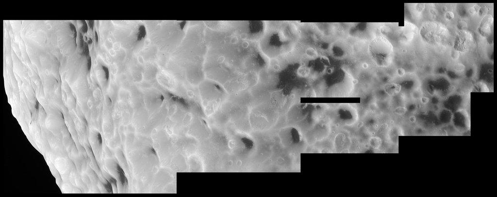 hyperion kraterleri