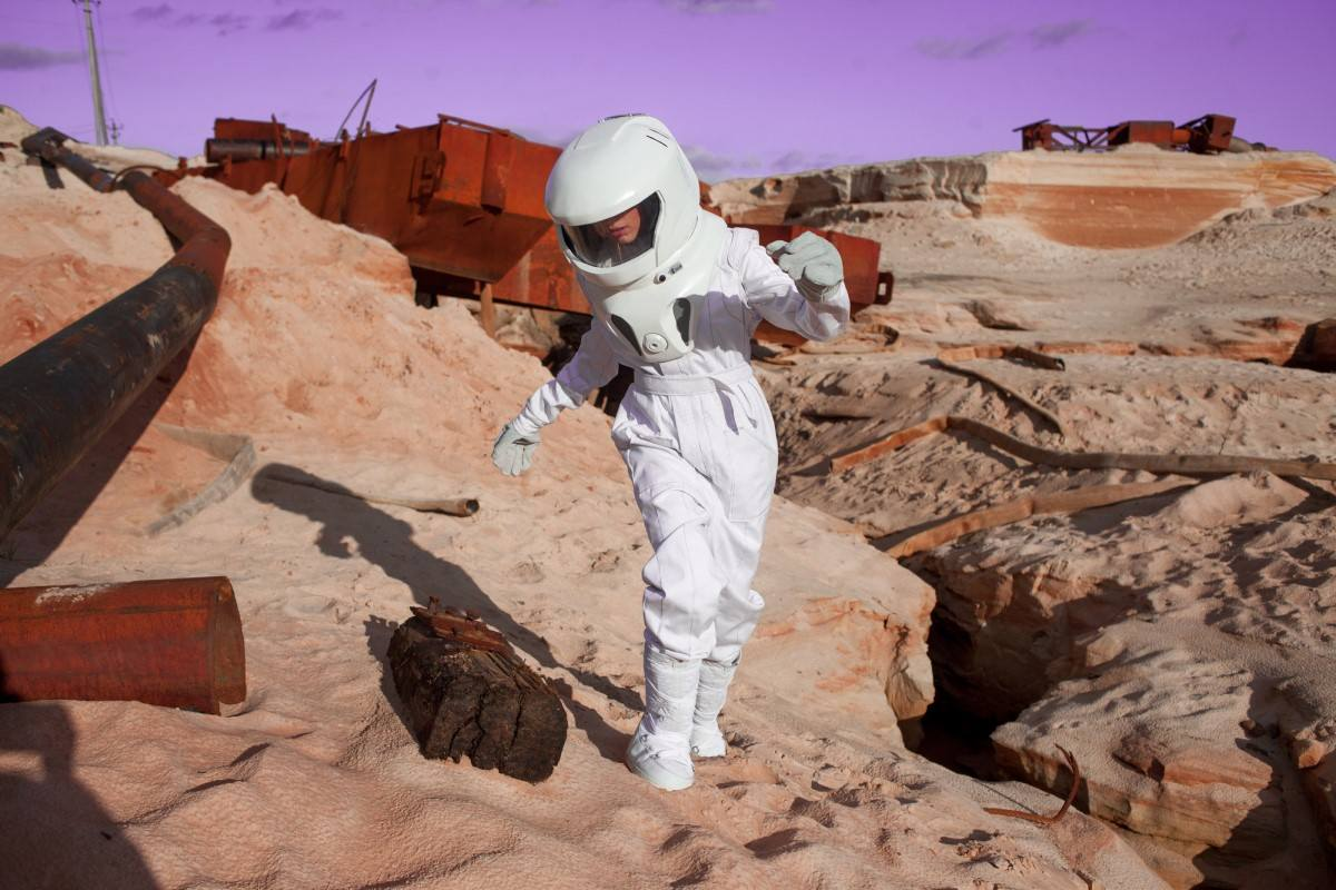 marslı insan