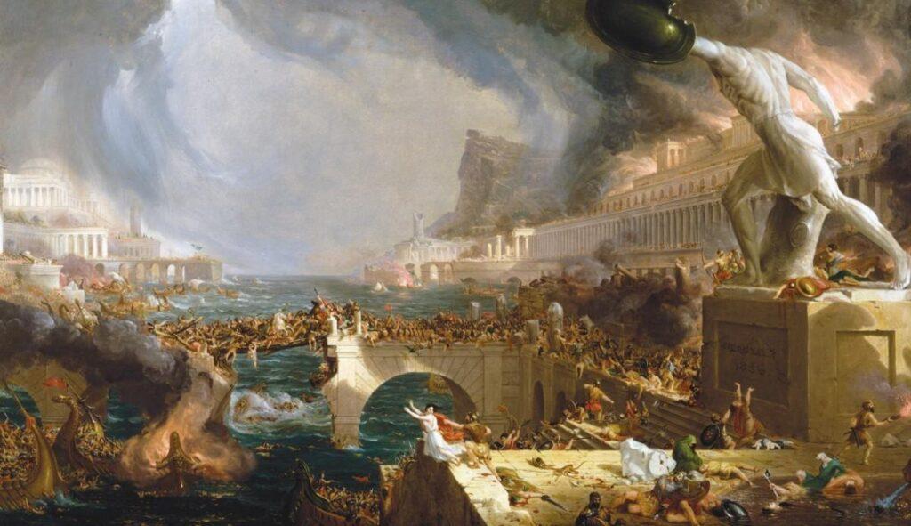 roma'nın yağmalanması