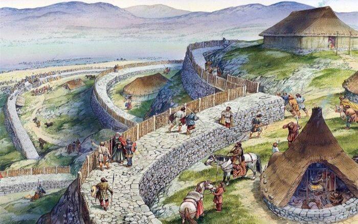 İlk kalelerin inşa edildiği Demir Çağı.